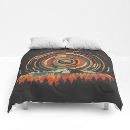 The Geometry of Sunrise Comforters