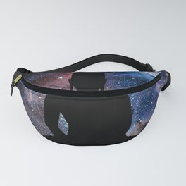 Space Galaxy Buddha Fanny Pack