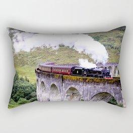 Jacobite Train Rectangular Pillow