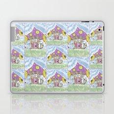 Whimsical Mushroom House Laptop & iPad Skin