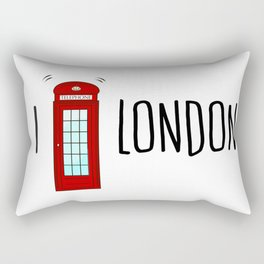 Love London Rectangular Pillow