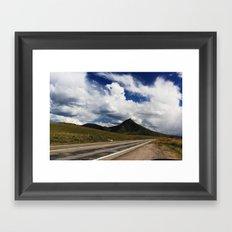 Rocky Top Framed Art Print