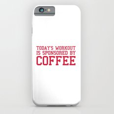 Today's Workout Gym Quote Slim Case iPhone 6s