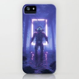 Lost In The Neon Jungle iPhone Case