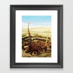 SW#55 Framed Art Print