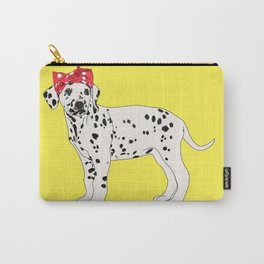 Political Pup - When We All Vote Dalmatian Carry-All Pouch