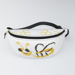 Happy bee Fanny Pack