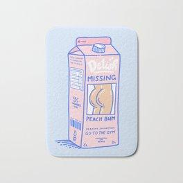 Missing Peach Bum Bath Mat