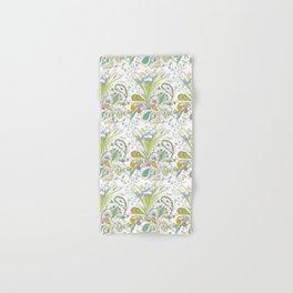 Whimsical Paisley Iris Hand & Bath Towel