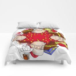Santa Claus Mandala Comforters