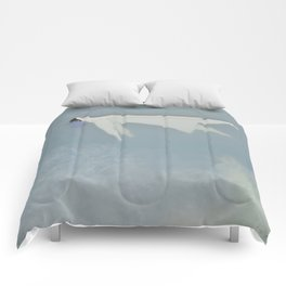 Afloat (Water Woman X) Comforters