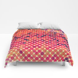 The Fall Harvest - abstract Comforters