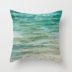 The Color of Water  Throw Pillow