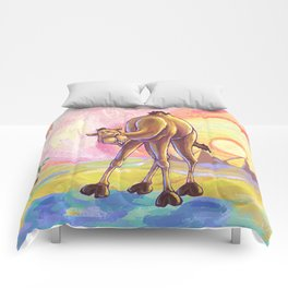 Animal Parade Camel Comforters