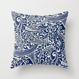 Hawaiian tribal pattern III Throw Pillow