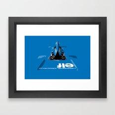Jackie Stewart, Tyrrell 005, 1973 Framed Art Print