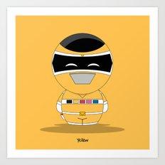 ChibizPop: I.S. Yellow Art Print