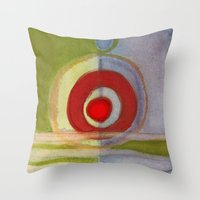 metal Throw Pillows featuring Metal by Angella Meanix
