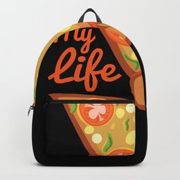 Pizza My Life Backpack