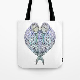 LOVE BIRDS IN COLOUR Tote Bag