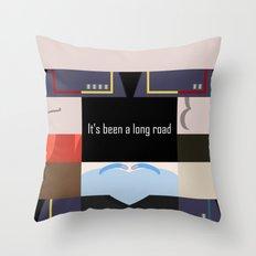 It's been a long road - Star Trek: Enterprise ENT - startrek Trektangle minimalist - trektangles Throw Pillow