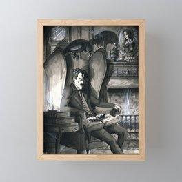 The Raven (version2) Framed Mini Art Print