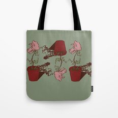 Nepenthes Ceratopsidae Tote Bag