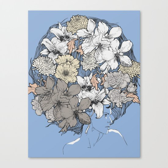 INSIGHT BLOOM Canvas Print