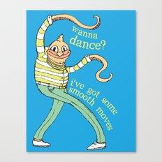Wanna Dance? Canvas Print