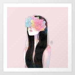 my dear girl Art Print