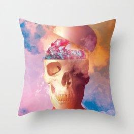 Skeletone Throw Pillow