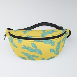Cactus Surface Pattern Design Fanny Pack