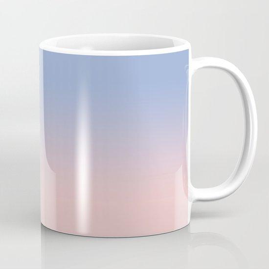 Pantone Rose Quartz and Serenity Ombre Mug