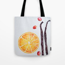 Cranberry Orange Vanilla Tote Bag