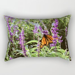 Butterfly with Open Wings Rectangular Pillow