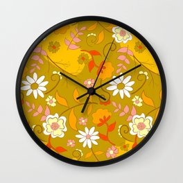 70's Living Wall Clock