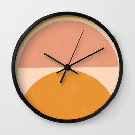 autumn sunshine 3 Wall Clock