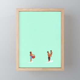 Summer Framed Mini Art Print