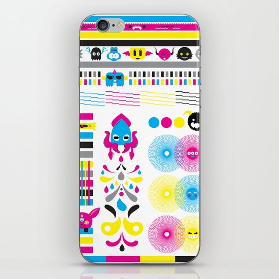 Monsters Ink. iPhone & iPod Skin