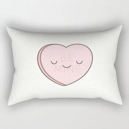 Pink Sweet Candy Heart Rectangular Pillow