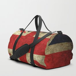 GRUNGY BRITISH UNION JACK  DESIGN ART Duffle Bag