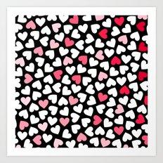 Hearts #9 Art Print