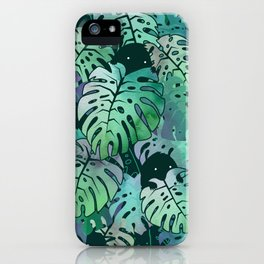 Monstera Monsters iPhone Case