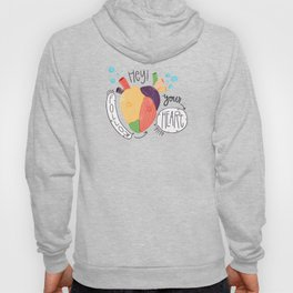 Follow Your Heart Valentines Day T-Shirt Gift Hoody