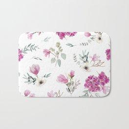 Pink pattern Bath Mat