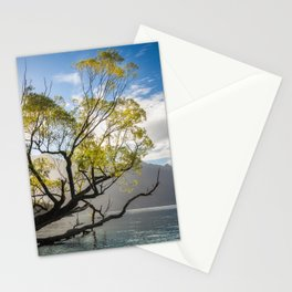 Beautiful Morning Light at Wilson Bay, New Zealand Stationery Cards