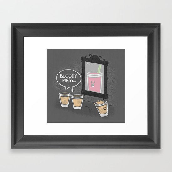 The Apparition Framed Art Print