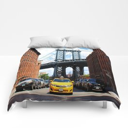 That Brooklyn View - The Empire Peek Comforters