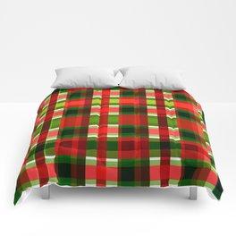 Christmas Plaid Comforters