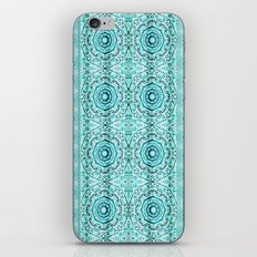 Minty Mandalas iPhone & iPod Skin